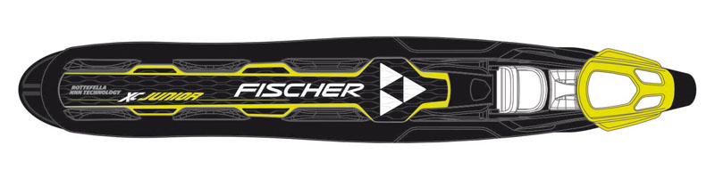 Fischer - XC JUNIOR Black/Yellow